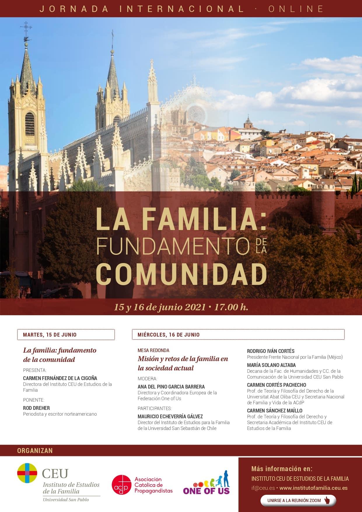 La familia: fundamento de la comunidad